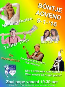 Poster Bontje aovend 2016 v4.0
