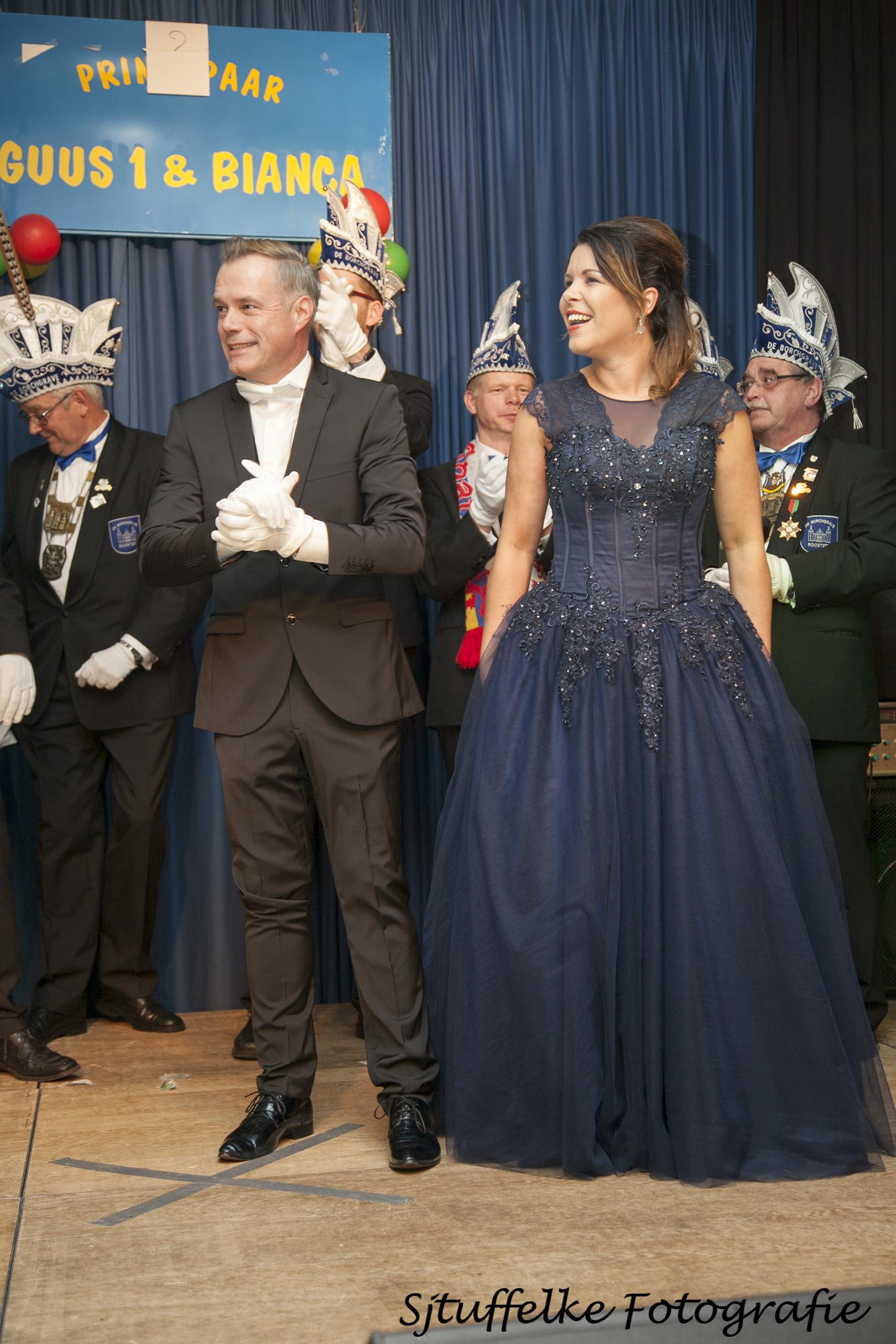 Prinsenpaar Guus I en Bianca