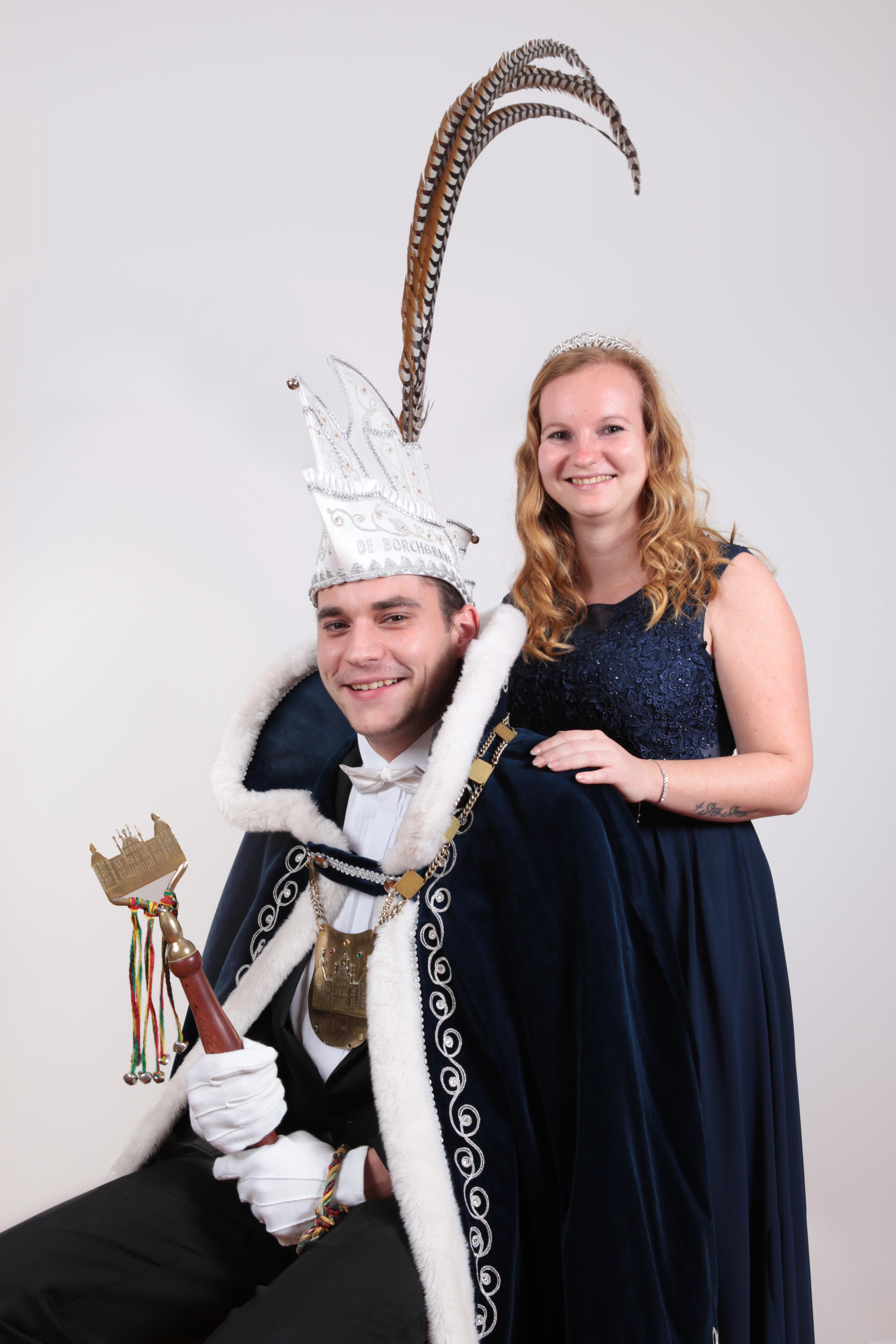 Jeffrey en Zenna uitgeroepen tot prinsenpaar!!