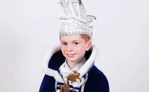 Lukas van Hooy uitgeroepen tot jeugdprins!